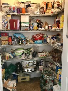before organized pantry