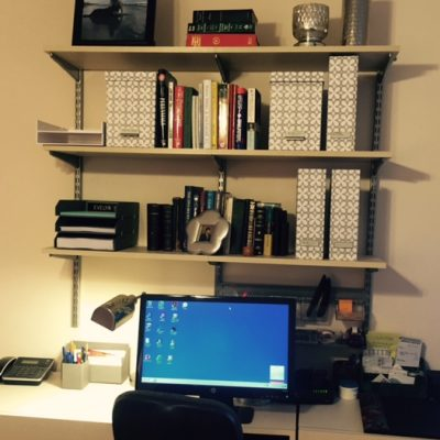After Home Office Organized