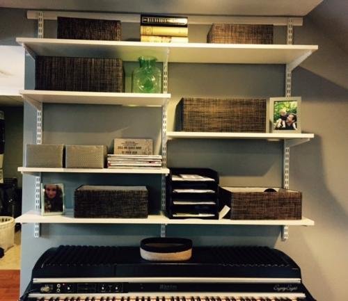 Extra shelving storage